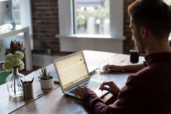 social media team reviewing social listening analytics