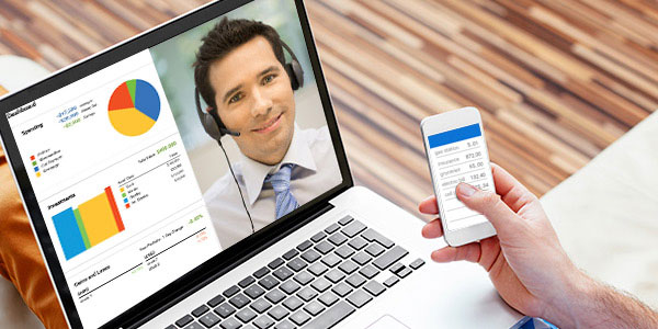 video chatting for customer service as an opportunity to gather data for voice of the customer voc program