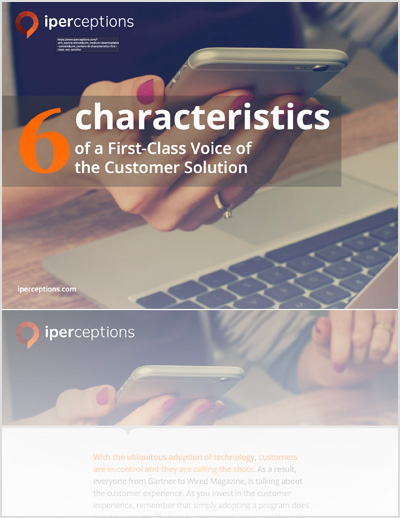 6 Characteristics of a First-Class Customer Experience Solution thumbnail