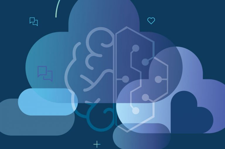 cloud and brain graphic